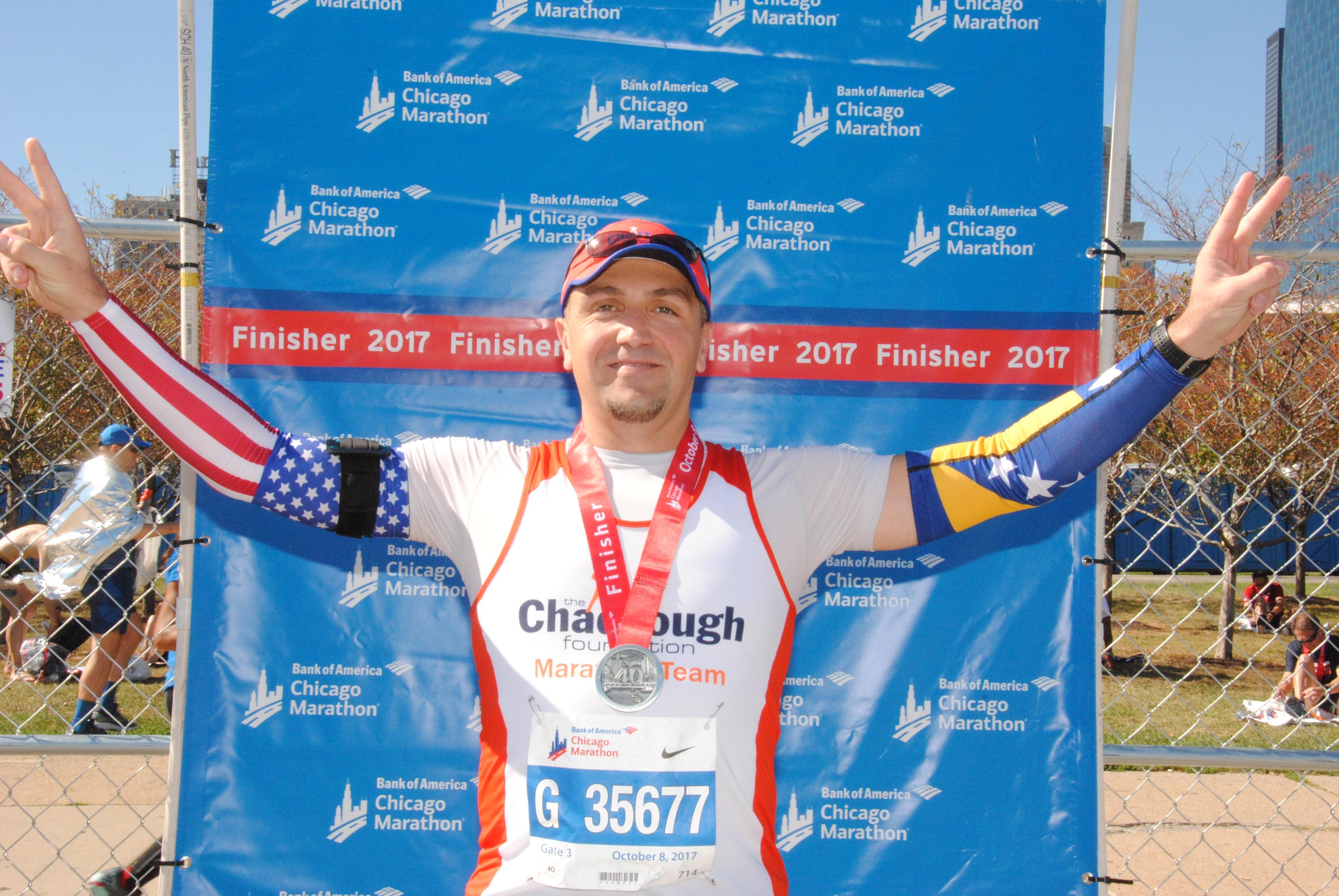 Amer Gerzic - Chicago Marathon