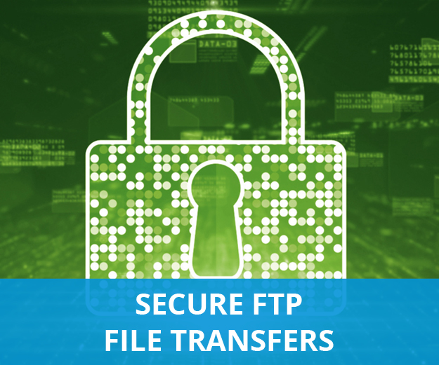 digital lock representing secure files