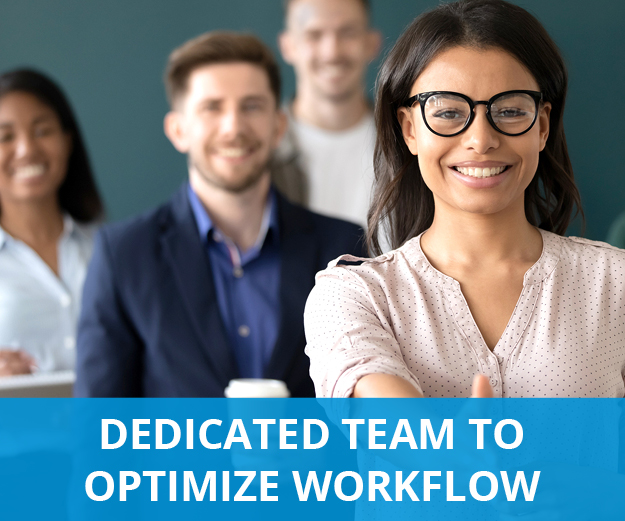 multi-ethnic work team