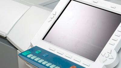 older commercial printer