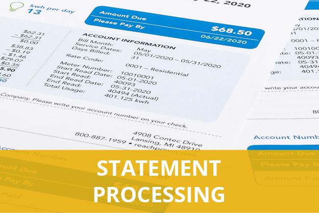 Statement Processing