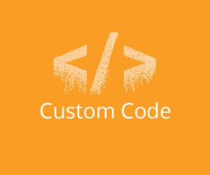 custom code image